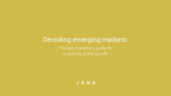 Decoding emerging markets